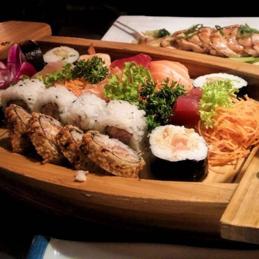Sushi in Ghent Traven Luc
