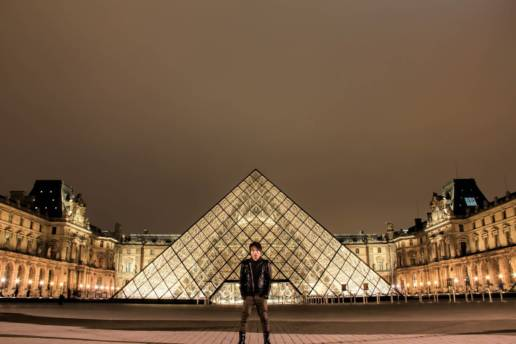 Louvre Museum Night Photography - Traven Luc