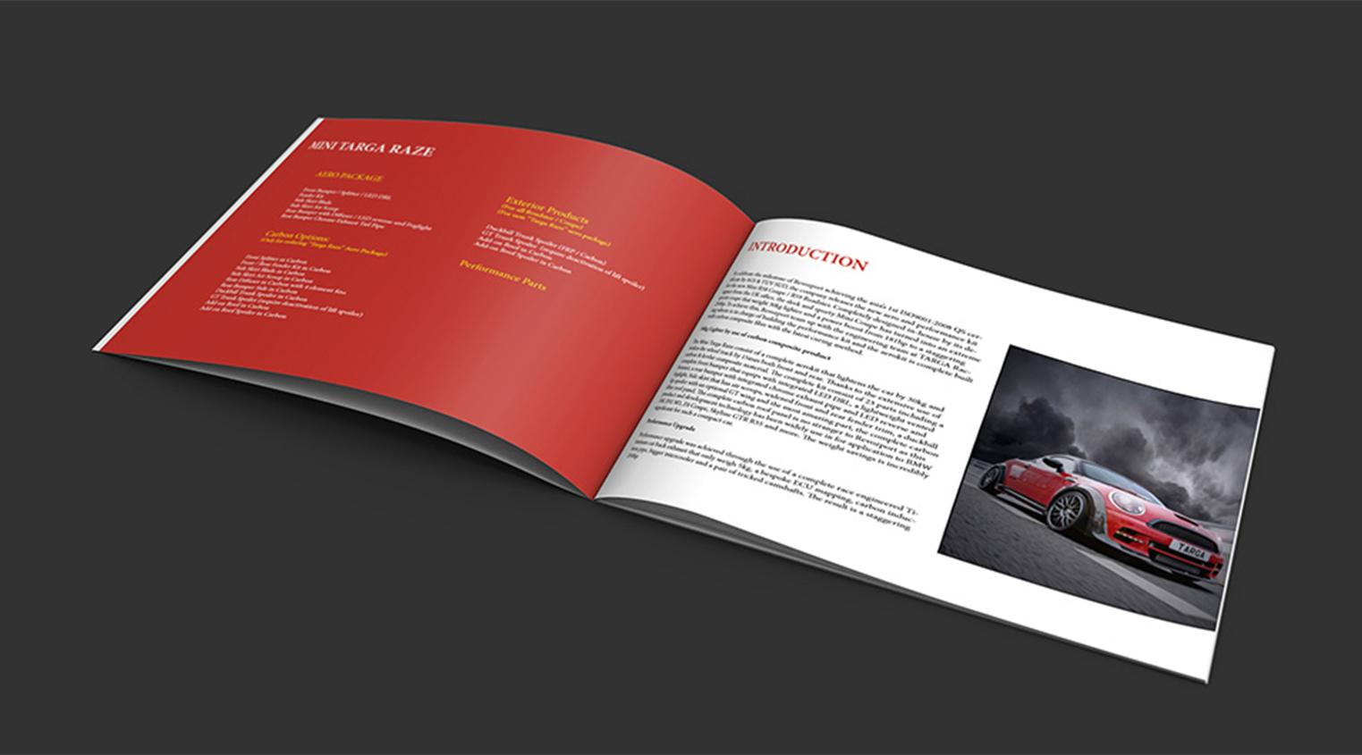 Brochure Design Traven Luc