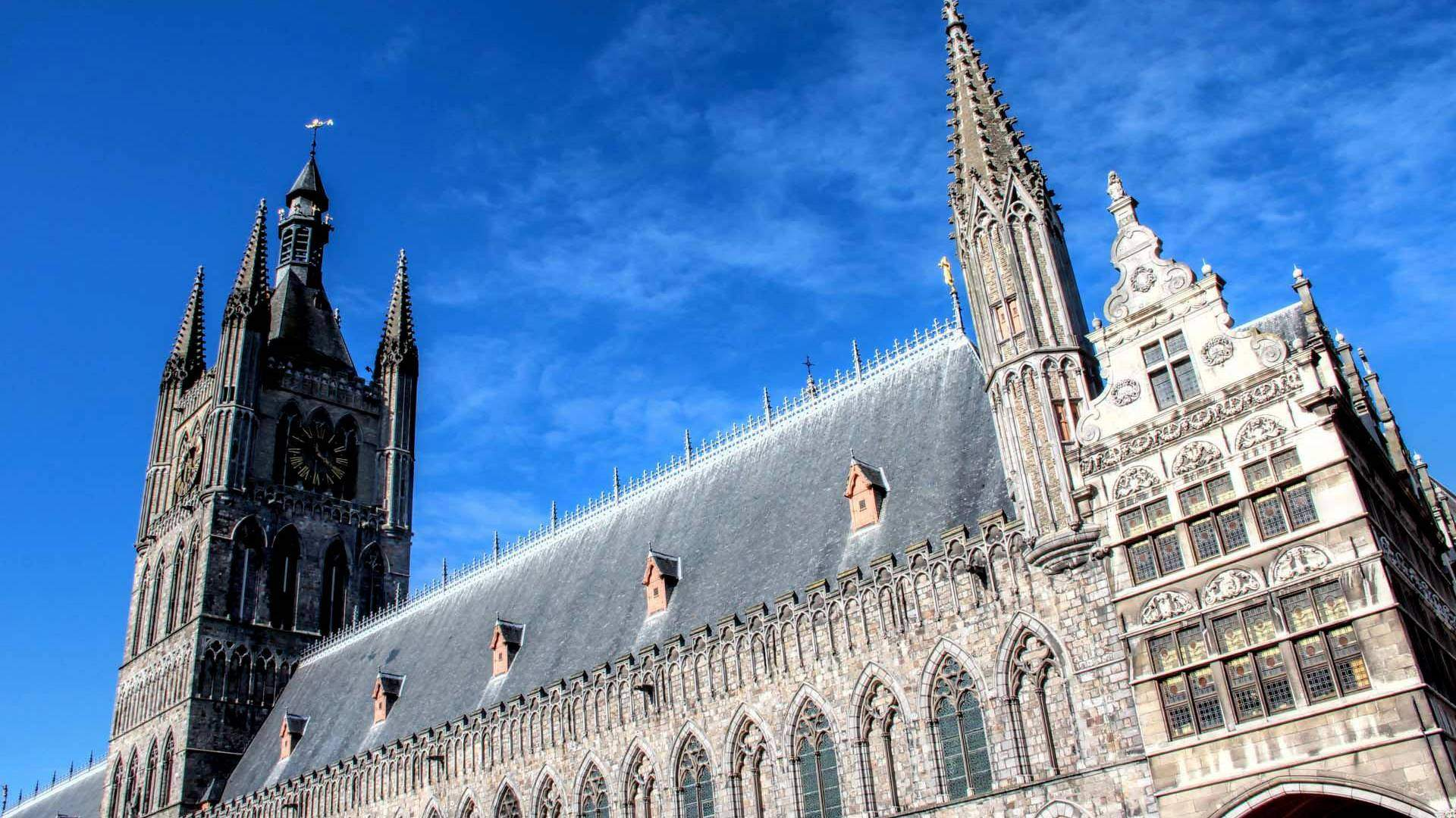Ypres in West Flanders - Traven Luc