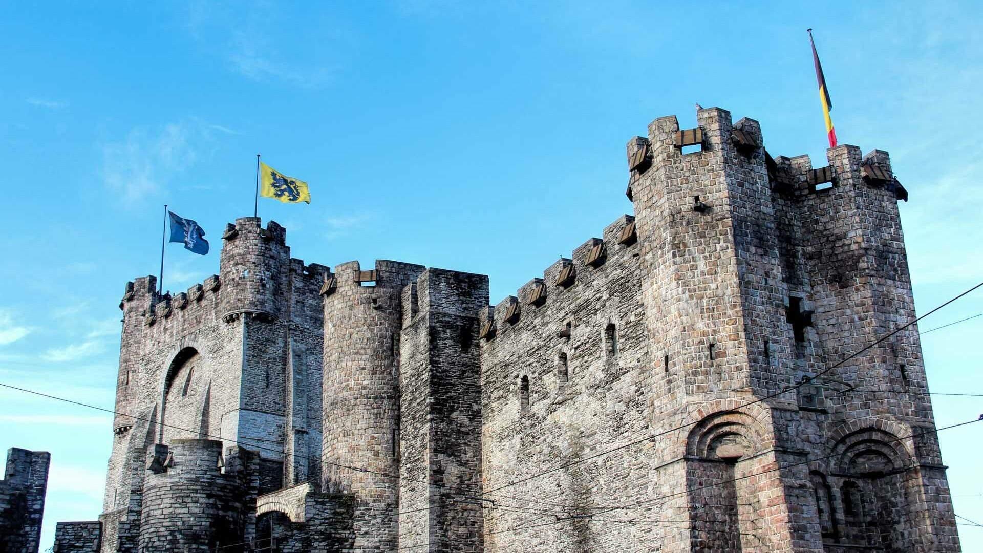 Gravensteen Castle Traven Luc