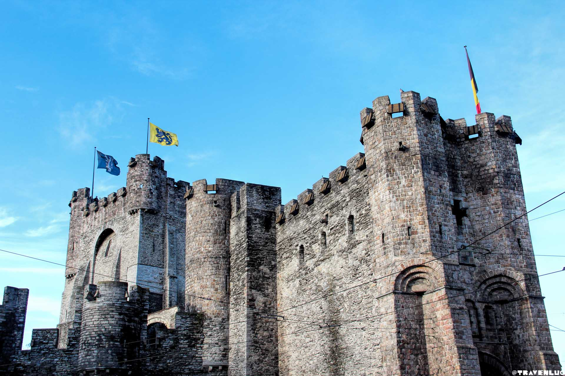 Gravensteen Castle Traven Luc