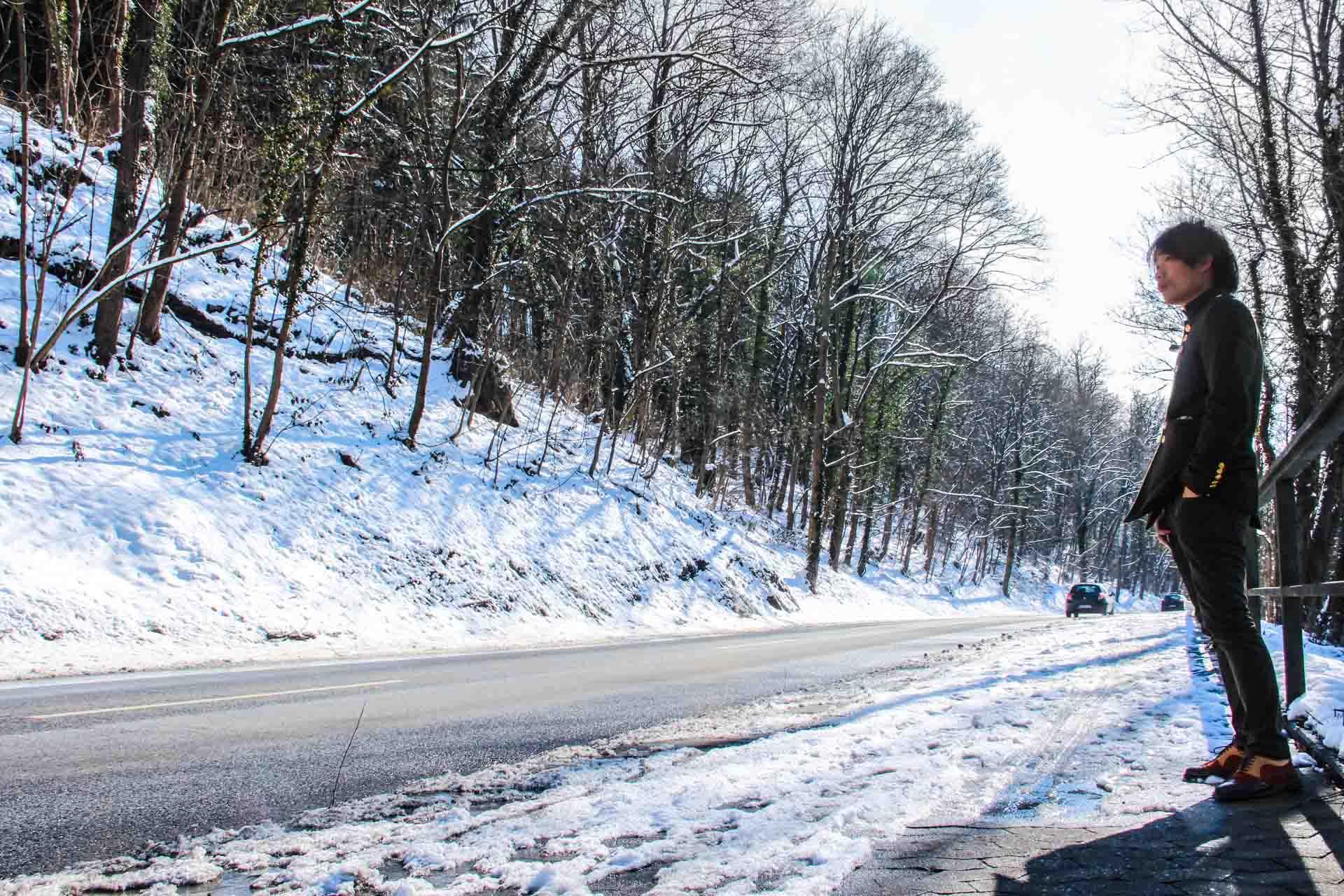 Snow in Neuwied Traven Luc