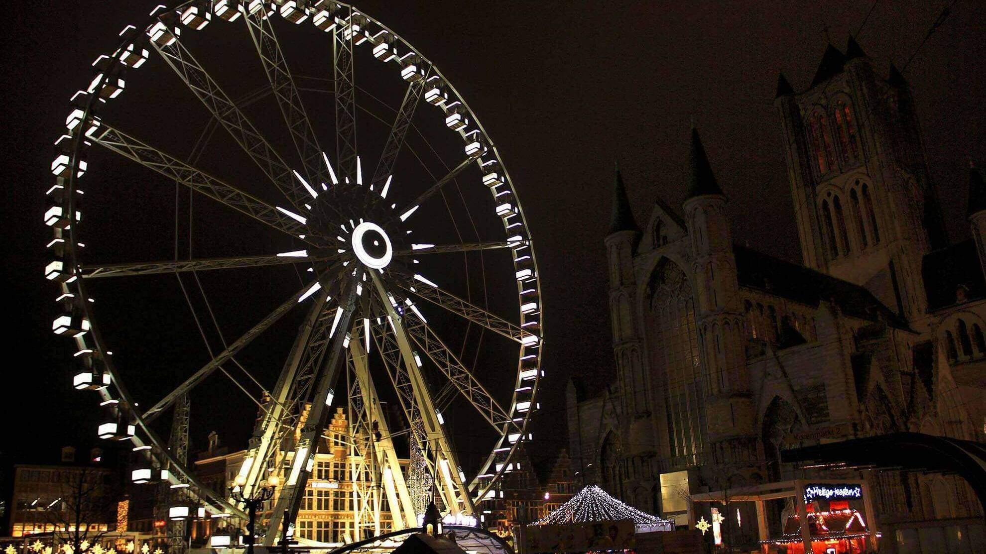 Christmas Market Ghent 2016 travenluc