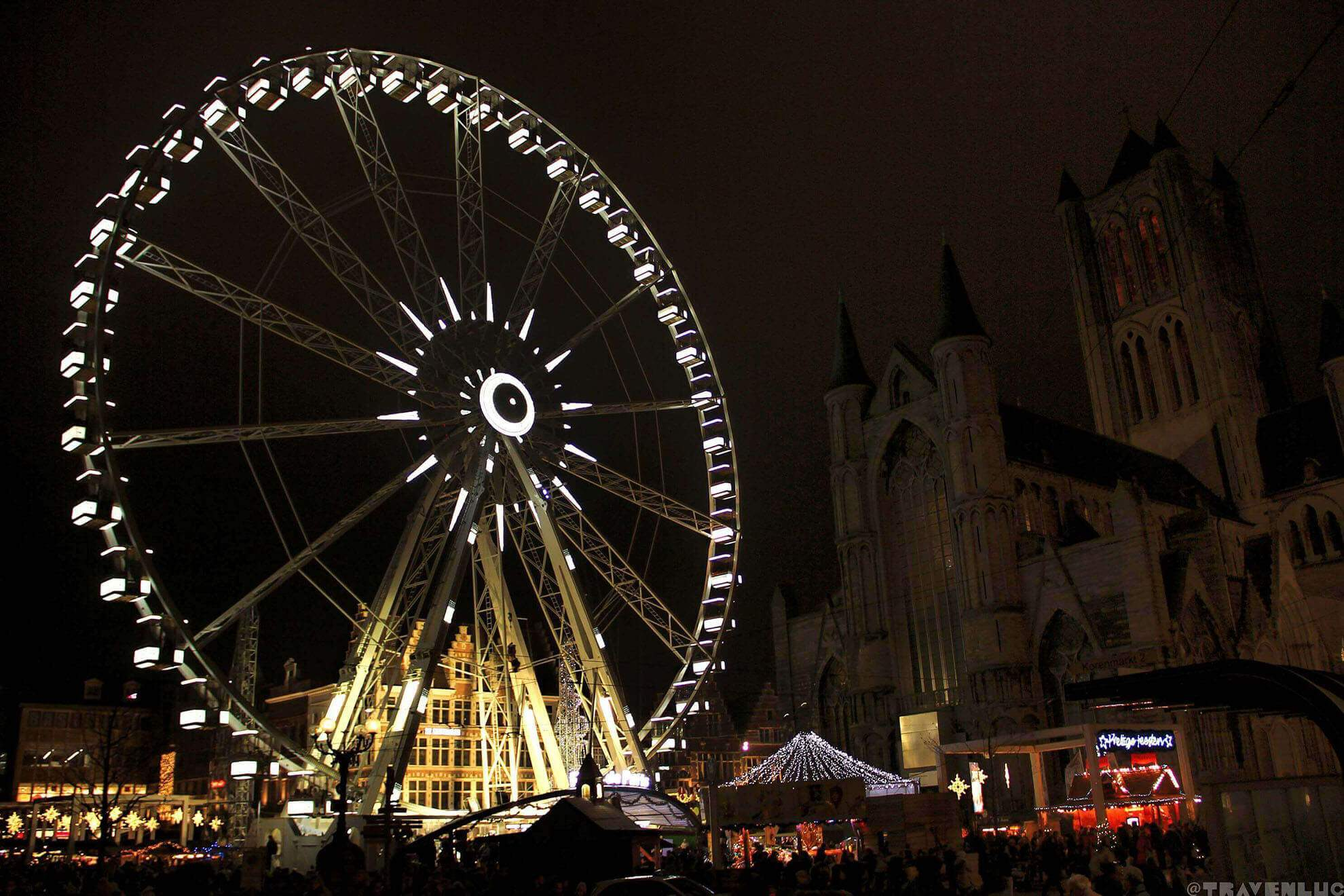 Christmas Market Ghent 2016 travenluc